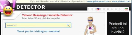 Yahoo Dectector